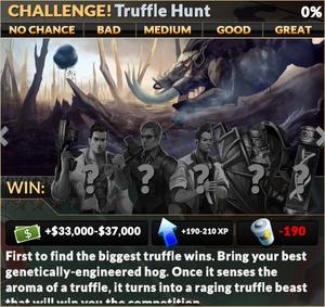 Job truffle hunt