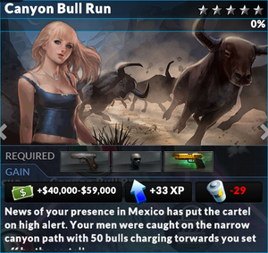 Job canyon bull run