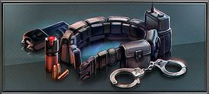 Item police utility belt
