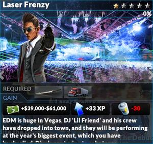 Job laser frenzy