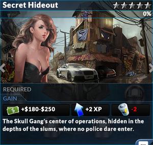 Job secret hideout