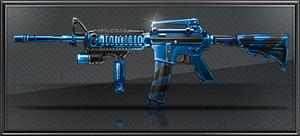 Item blue camo m4