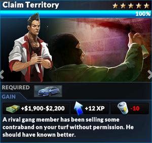 Job claim territory