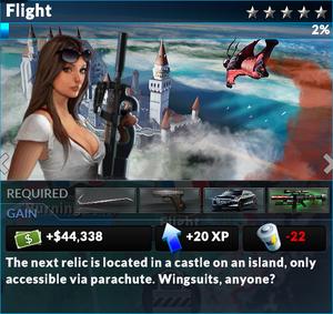 Job flight
