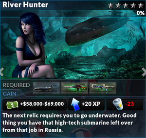 Job river hunter