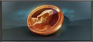 Item bronze shadow token
