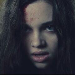Eve, seconds after  killing Lane.