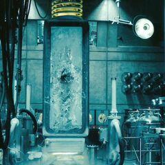 The cryogenic chamber.