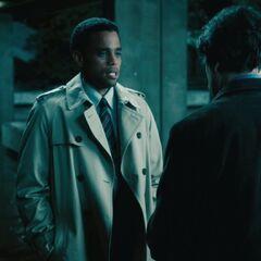 Sebastian and Lane, talking about Eve.