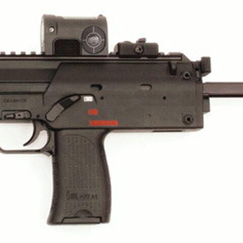 A H&K MP7A1.