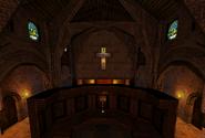 Church Choir Area Monastery Past