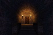 Scriptorium Entrance Monastery Past