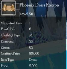 Phoenix Dress Rec