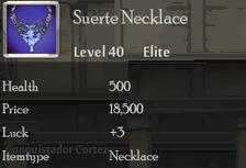Suerte Necklace