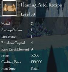 Flaming Pistol Rec