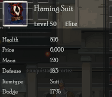 Flaming Suit