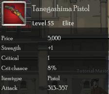 Tanegashima Pistol