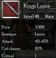 Kings lance