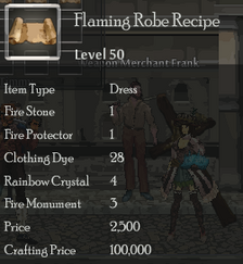 Flaming Robe Rec