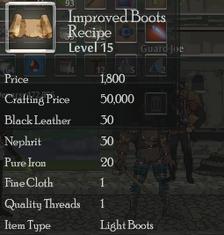 Improved Boots Rec