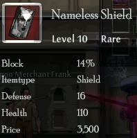 Nameless shield