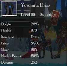 Yoromito Dress