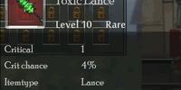 Toxic Lance