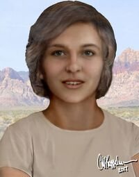 Nevada Cave-woman 005 Reconstruction Frontal