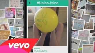 Union J - Carry You (Fan Lyric Video - Vine)