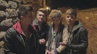 Union J - Carry You Behind the Scenes