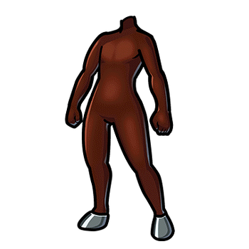 Gear-Brown Horse Tights Render