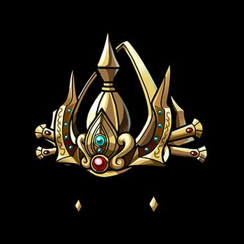 Gear-Indra's Gemmed Crown Render