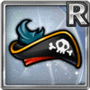 Gear-Pirate Hat Icon