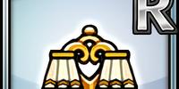 Classic Lamp (Gold) (Furniture)