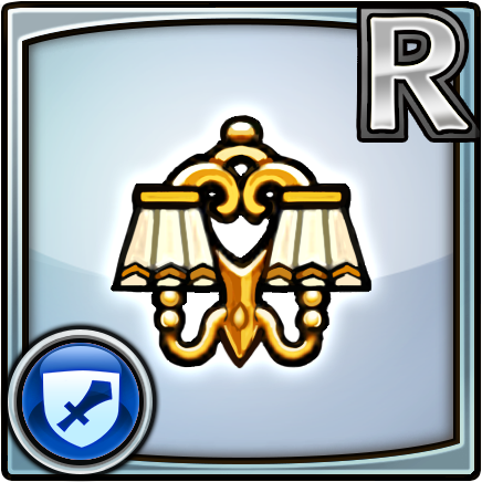 File:Furniture-Classic Lamp (Gold) Icon.png