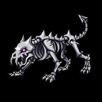 Gear-Skeleton Dog Render