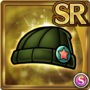 Gear-Green Knitted Cap Icon