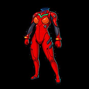 Gear-Asuka's Plugsuit Render