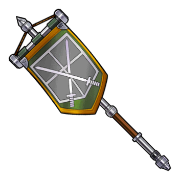 Gear-超硬質旗・訓練仕様 Render