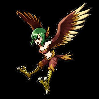 Gear-Harpy Render