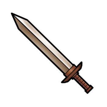 Gear-Bronze Sword Render