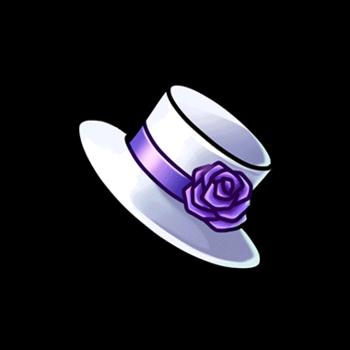 Gear-Mini White Top Hat Render