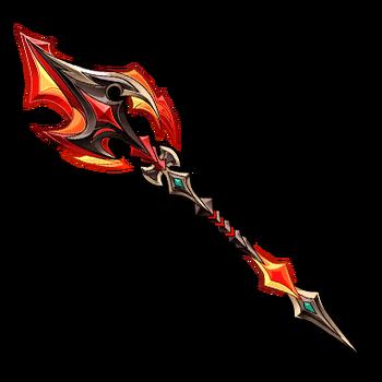 Gear-Firedrake Lance Render