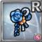 Gear-Blue Japanese Hair Clip Icon
