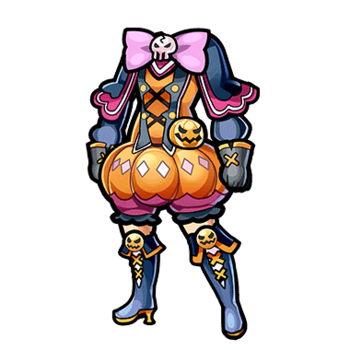 Gear-Halloween Witch Dress Render