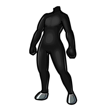 Gear-Black Horse Tights Render