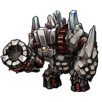 Gear-Titan Golem Render