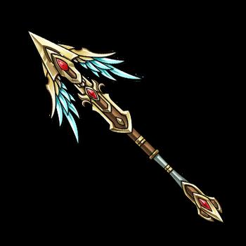 Gear-Divine Valkyrie Lance Render