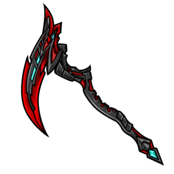 Gear-Demon Scythe Render