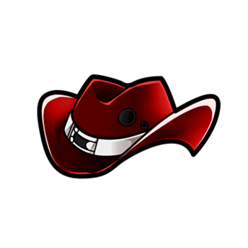 Gear-Red Ten-Gallon Hat Render